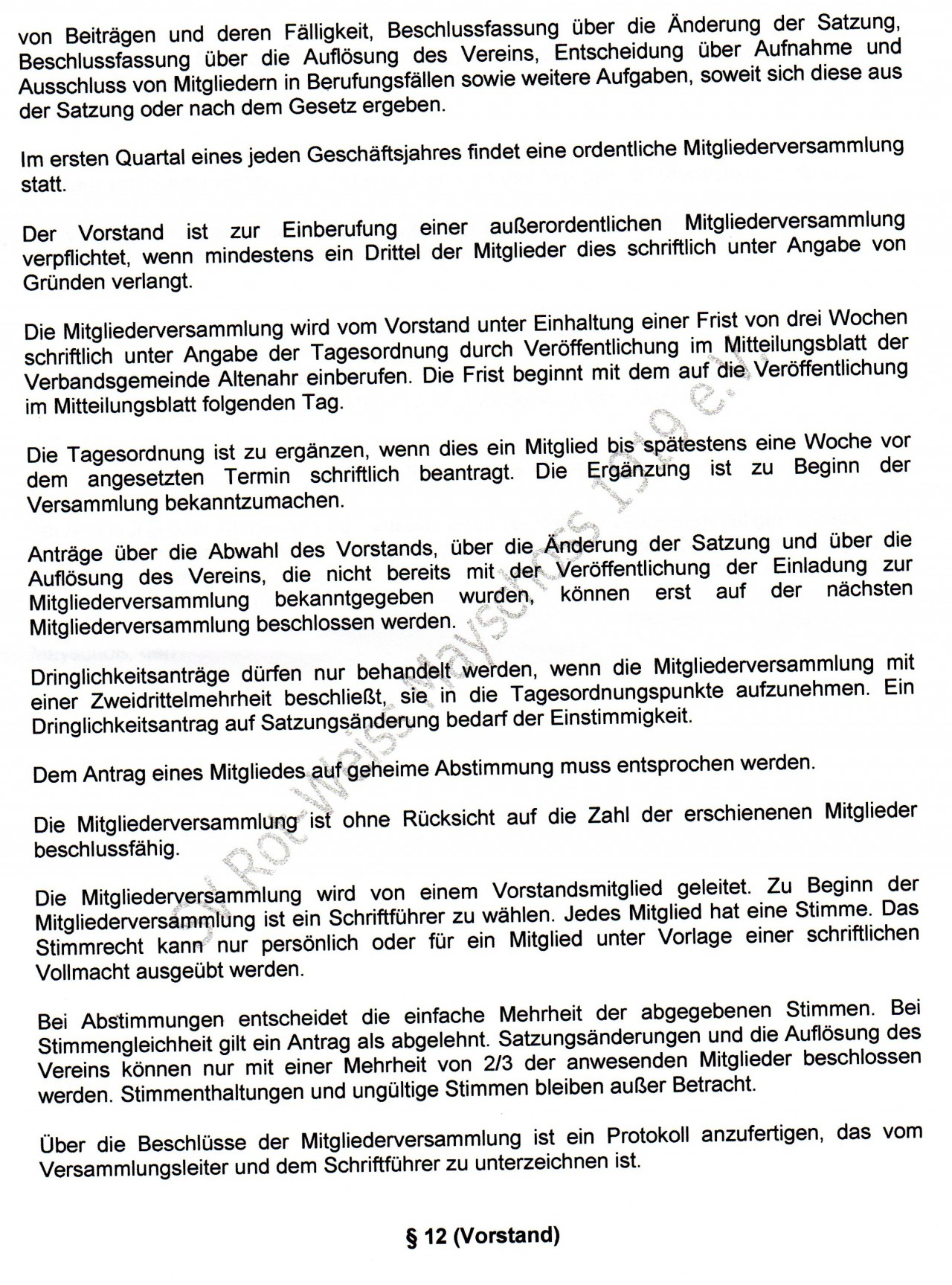 Atemberaubend Vorstand Der Auflösung Vorlage Bilder - Beispiel ...